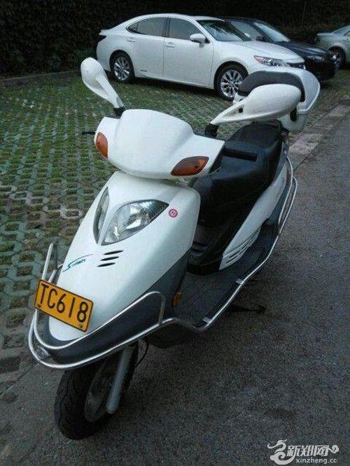 转让豪爵铃木悦星摩托车一辆